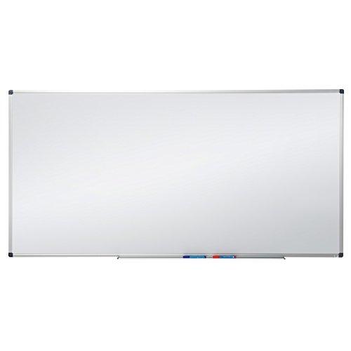 MOB Profi-Whiteboard Magnettafel – 120x90cm – emailliert, Alurahmen, magnetisch – für Büro, Gewerbe und Privat - 4