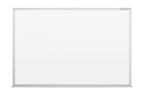magnetoplan Whiteboard SP 120 x 90 cm, in weiteren Größen auswählbar, mit speziallackierter Oberfläche, Metallrückwand, inklusive Befestigungsmaterial