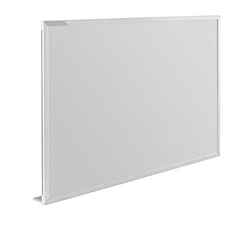 magnetoplan Whiteboard CC 300 x 120 cm, in weiteren Größen auswählbar, mit emaillierter Oberfläche, Metallrückwand, inklusive Befestigungsmaterial - 4