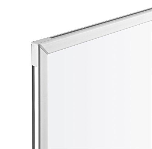 magnetoplan Whiteboard CC 300 x 120 cm, in weiteren Größen auswählbar, mit emaillierter Oberfläche, Metallrückwand, inklusive Befestigungsmaterial - 3