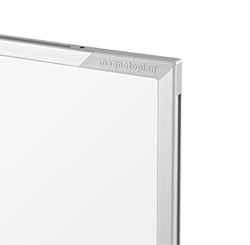 magnetoplan Whiteboard CC 300 x 120 cm, in weiteren Größen auswählbar, mit emaillierter Oberfläche, Metallrückwand, inklusive Befestigungsmaterial - 5
