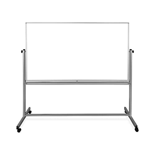 Stand Up Desk Store Beidseitig mobiles Magnet-Whiteboard (180cm x 100cm) - 2