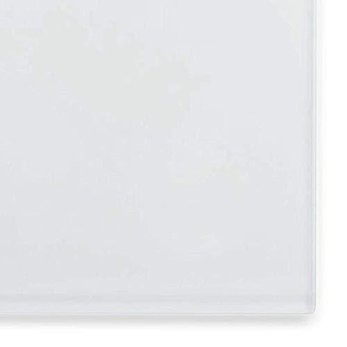 Glas-Whiteboard | Sicherheitsglas | Reinweiß | Rahmenlos | 8 Größen (120×150 cm) - 4