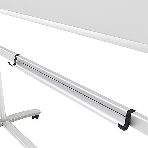 VIZ-PRO Mobile Whiteboard/Doppelseitige Whiteboard- mit magnetisch, Stahlständer – 120 x 90 cm - 3
