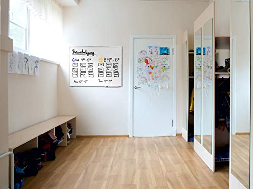 Legamaster 7-101064 Whiteboard Premium Plus, e3-Emaille, 200 x 100 cm - 5