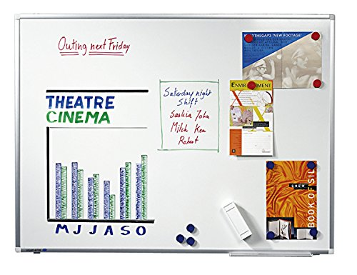 Legamaster 7-101064 Whiteboard Premium Plus, e3-Emaille, 200 x 100 cm - 8