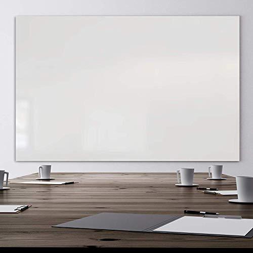 Glas-Whiteboard   Sicherheitsglas   Reinweiß   Rahmenlos   8 Größen (120x240 cm) - 2