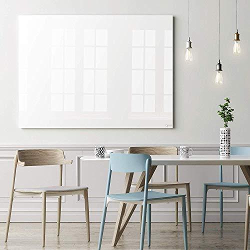 Glas-Whiteboard   Sicherheitsglas   Reinweiß   Rahmenlos   8 Größen (120x240 cm) - 3