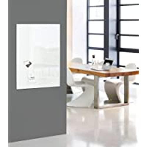 SIGEL GL141 Premium Glas-Whiteboard 100x65 cm super-weiß / Glas Magnettafel / Sicherheitsglas / TÜV geprüft / Magnetboard Artverum - weitere Farben/Größen - 2