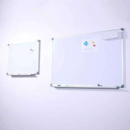 Vivol Eco Magnetic Whiteboard 100x150   Aluminium Rahmen   Magnettafel Whiteboardwand Magnetwand   Stiftablage   14 Größen   Magnetisch und Beschreibbar - 7