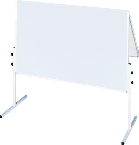 Franken CC-UMTK-G R Moderationstafel X-tra Line (Karton Aluminiumrahmen mit Rollen) weiß